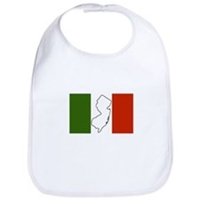 New Jersey Italian Flag Bib