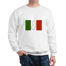 New Jersey Italian Flag Sweatshirt