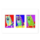 Pomeranian Prints Postcards (Package of 8)