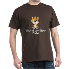 Year of the Tiger 2010 Dark T-Shirt