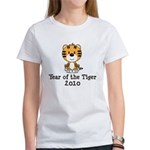 Year of the Tiger 2010 Women's T-Shirt