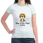 Year of the Tiger 2010 Jr. Ringer T-Shirt