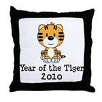 Year of the Tiger 2010 Throw Pillow