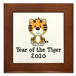 Year of the Tiger 2010 Framed Tile