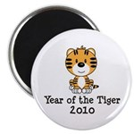 Year of the Tiger 2010 Magnet