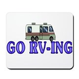 GO RV-ING Mousepad