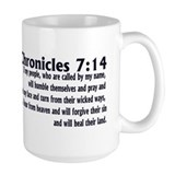 2 Chronicles 7:14 Mug
