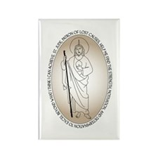 St. Jude Rectangle Magnet