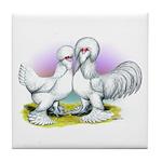 Sultan Chickens Tile Coaster