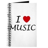I heart music Journal