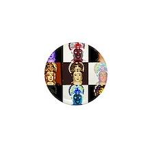 Funny Saraswati Mini Button (10 pack)