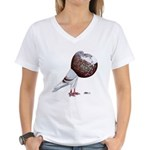Champion Cropper Pigeon Women's V-Neck T-Shirt