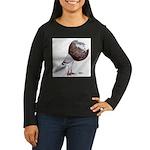 Champion Cropper Pigeon Women's Long Sleeve Dark T