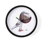 Champion Cropper Pigeon Wall Clock