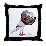 Champion Cropper Pigeon Throw Pillow