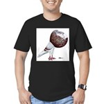 Champion Cropper Pigeon Men's Fitted T-Shirt (dark