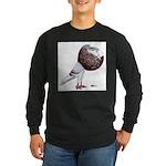 Champion Cropper Pigeon Long Sleeve Dark T-Shirt