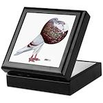 Champion Cropper Pigeon Keepsake Box