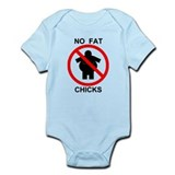 No Fat Chicks Infant Bodysuit