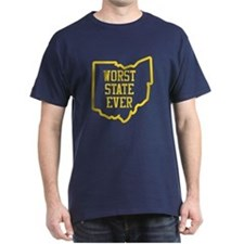 OSU Worst State Ever 3 T-Shirt