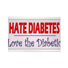 Cute Diabetes Rectangle Magnet