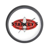 Stanley's Authentic Original Wall Clock