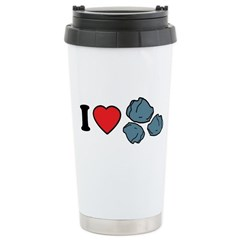I Love Rocks Ceramic Travel Mug