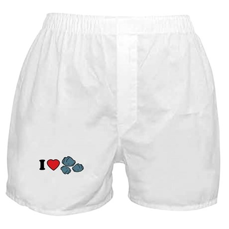I Love Rocks Boxer Shorts