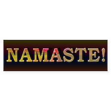 Namaste Honor Spirit - Bumper Sticker