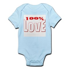 100% Love Infant Creeper