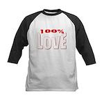 100% Love Kids Baseball Jersey