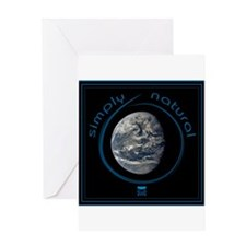 Simply Natural Earth Greeting Card