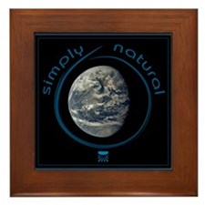 Simply Natural Earth Framed Tile