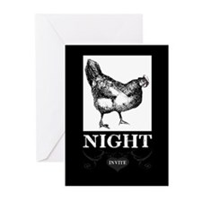 AFD Hen Night Invitation Greeting Cards (Pk of 10)