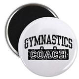 Gymnastics Coach Magnet
