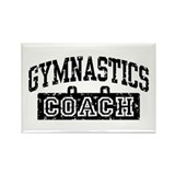 Gymnastics Coach Rectangle Magnet
