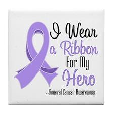 Hero - General Cancer Tile Coaster