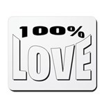 100% Love Mousepad