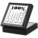 100% Love Keepsake Box