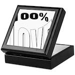 100% Love Keepsake Box