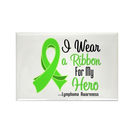 Hero - Lymphoma Rectangle Magnet (100 pack)