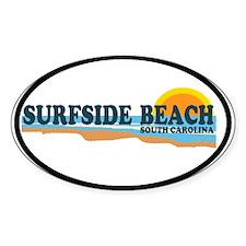 Surfside Beach SC - Beach Design Decal