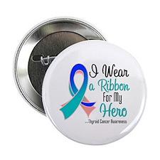 "Hero - Thyroid Cancer 2.25"" Button"