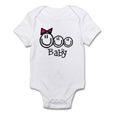 "Girl, Boy, Boy ""The Baby"" Infant Bodysuit"
