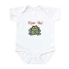 Kiss Me Frog Infant Creeper