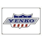 Yenko Crest Tribute Garage Banner
