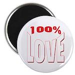 100% Love Magnet