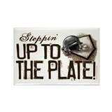 Step Up to the Plate Rectangle Magnet