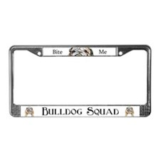 Bulldog LICENSE PLATE FRAMES! License Plate Frame