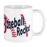 Graphic Baseball Rocks Mug
